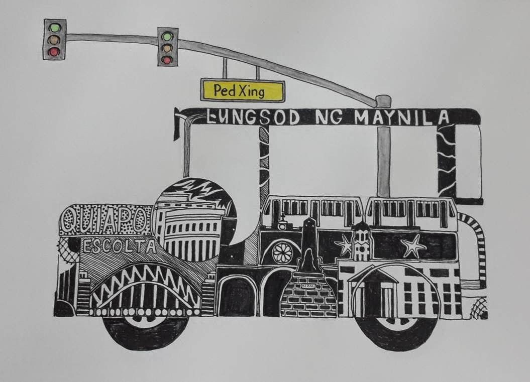 Sketches And Journeys Jeepney Art Sketches Jeepney Filipino Art Sketches