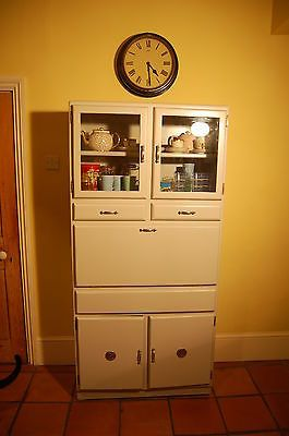 #Large vintage #retro #1950's kitchen cabinet kitchenette ,  View more on the LINK: http://www.zeppy.io/product/gb/2/172012977488/