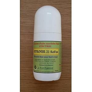 Synergie d'huiles essentielles VITROVIR 21 roll & # 39; on Run & # 39; essence 75ml   – Products