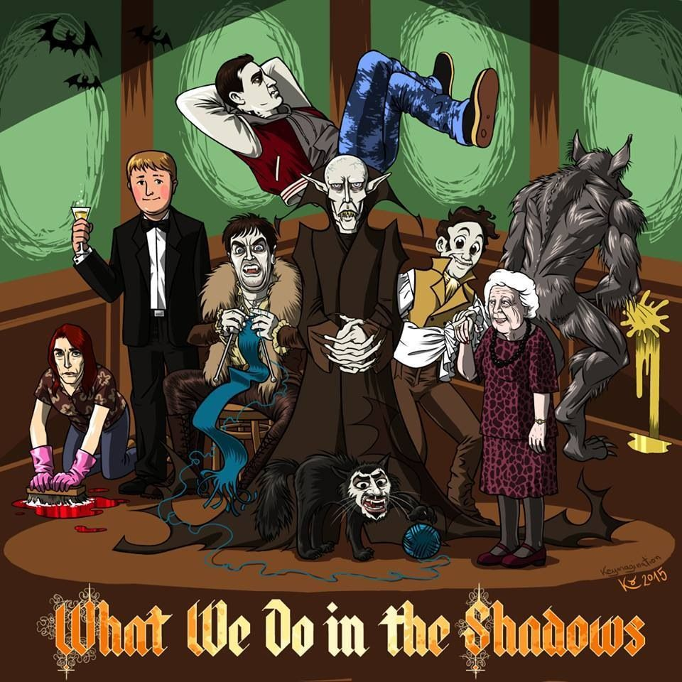 What We Do in the Shadows (2014) Horror Movies