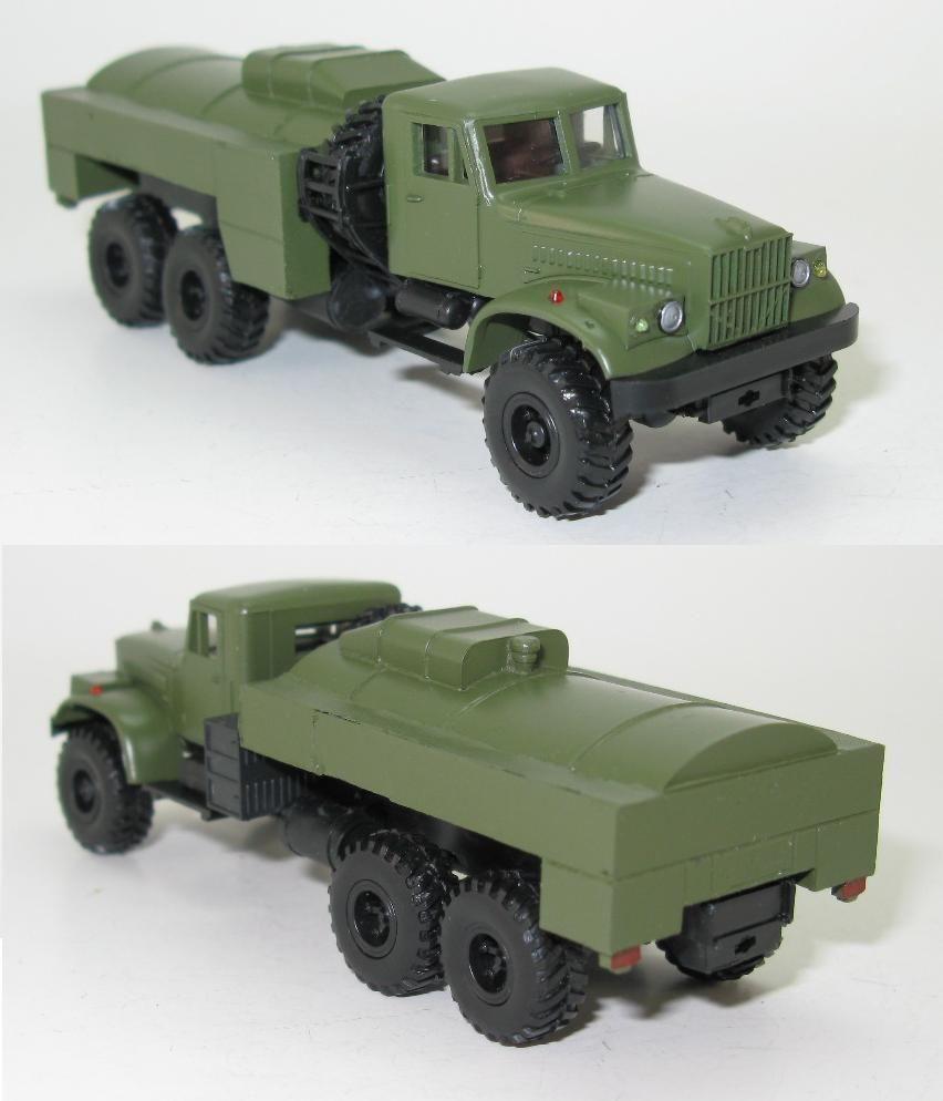 KrAZ-255B AKS-4 Tanker NVA UdSSR - 1:87 HO