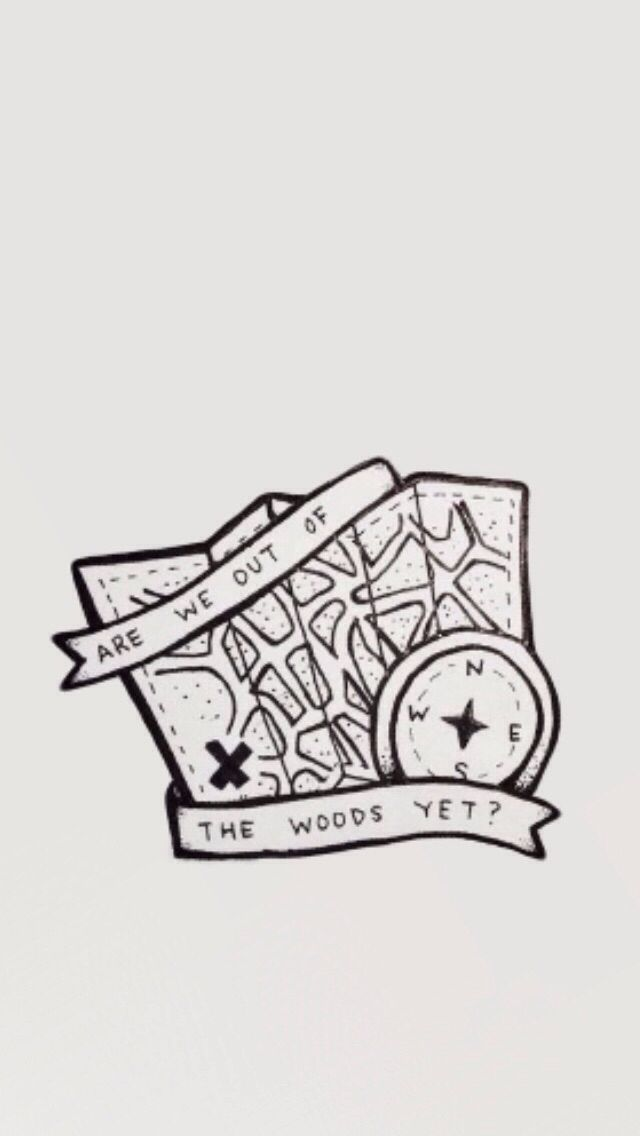 And I Remember Thinking Are We Out Of The Woods Yet Are We In The Clear Yet Lyric Drawings Lyric Art Taylor Swift Lyrics
