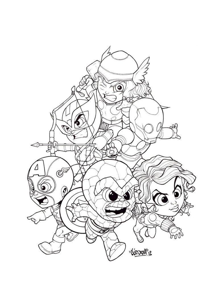 Concurso de Color la Mole Julio by renecordova | Marvel Comics ...