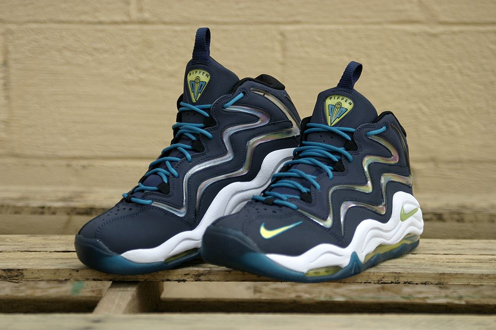 Nike Air Pippen 1 - Midnight Navy | Sole Collector. Still beautiful and  still heavy