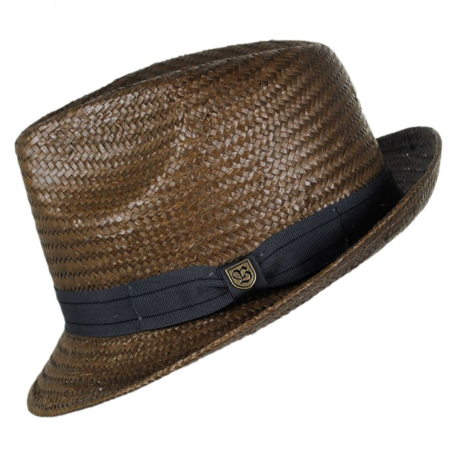 f5c75bfb Brixton Hats Castor Toyo Straw Fedora Hat All Fedoras Please Note: Lining  designs may vary (some are solid, some have a print). This cannot be  selected for.