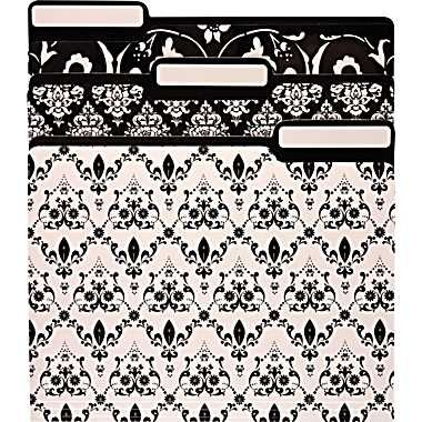 M by staples file folders letter assorted black and white designs m by staples file folders letter assorted black and white designs 6pack staples 549 solutioingenieria Choice Image