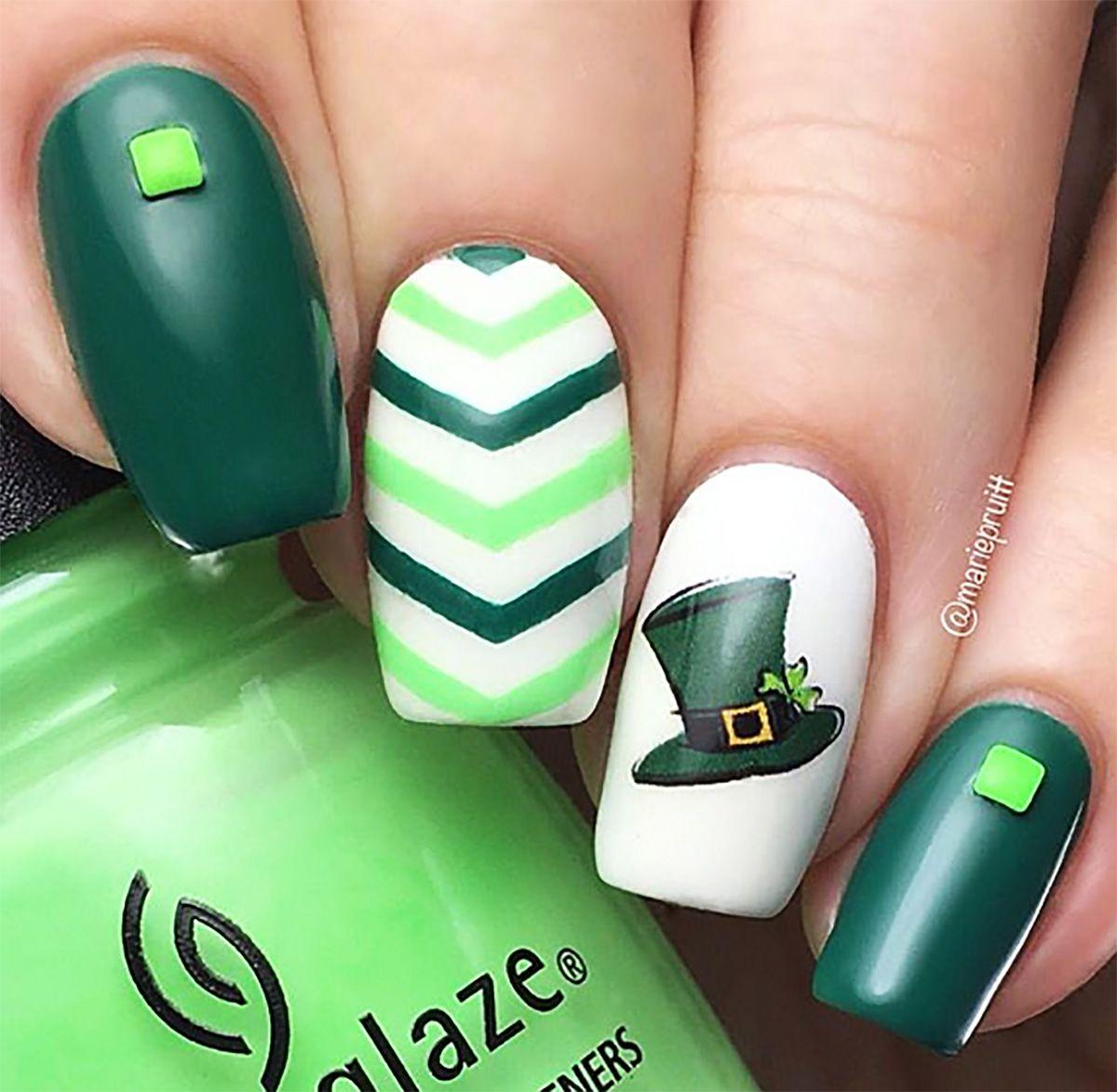 St. Patrick\'s Day Nail Art Decals #2 | Diseños de uñas