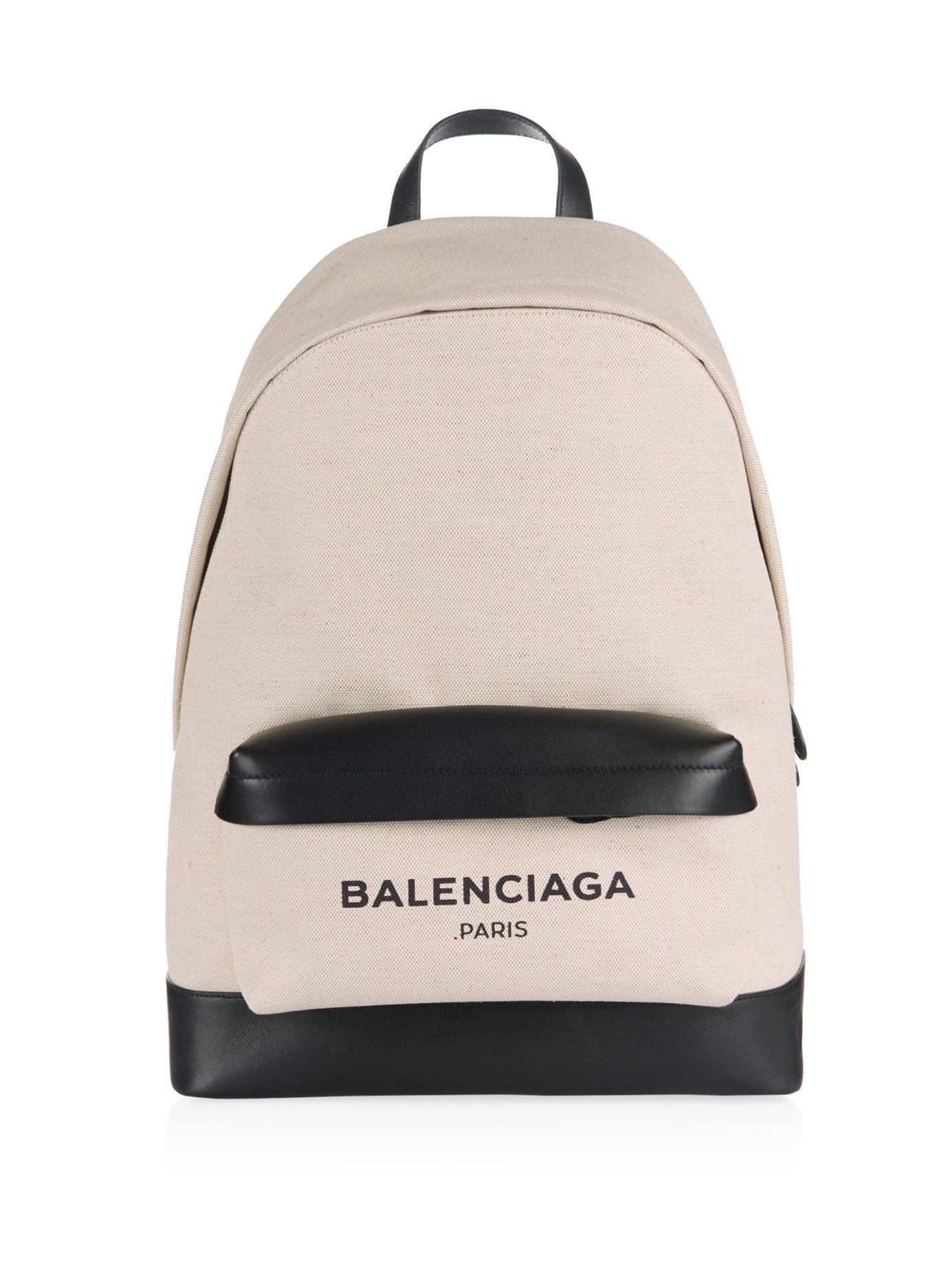 624d519230 Navy canvas and leather backpack | Balenciaga | MATCHESFASHION.COM ...