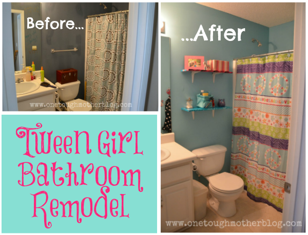 Tween Bathroom Remodel | Tween, Girl bathrooms and Kid bathrooms