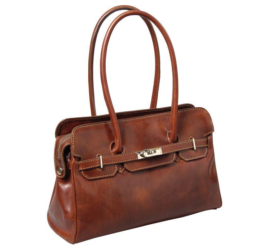 2bd75d68acb6 I Medici Italian Handbags The Timeless Leather Handbag