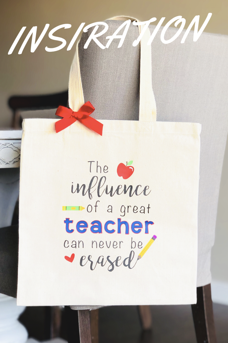 76bd8e50a93 Great Teacher Tote   Custom Totes   Hand Bags   Pinterest