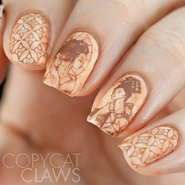 UberChic Beauty The Far East -02 Stamping Plate Review | nehty ...