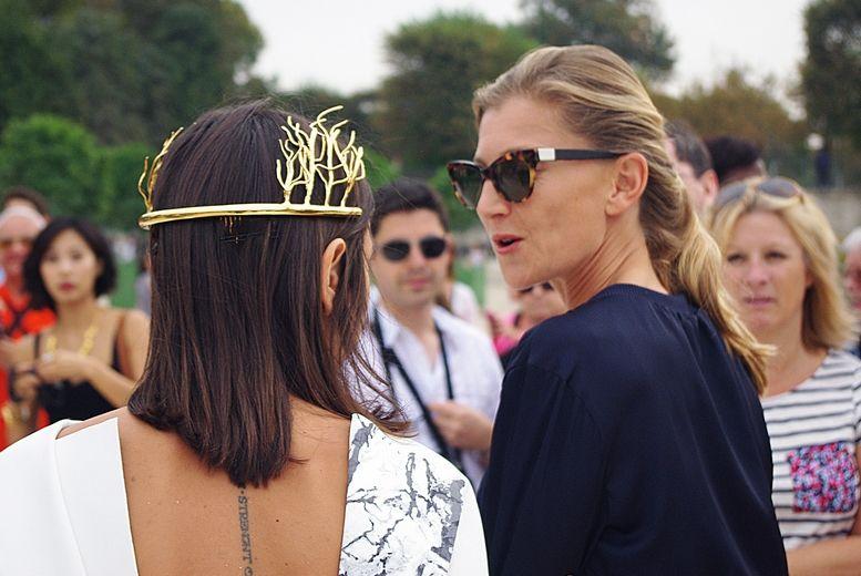 Paris Fashion Week Close up