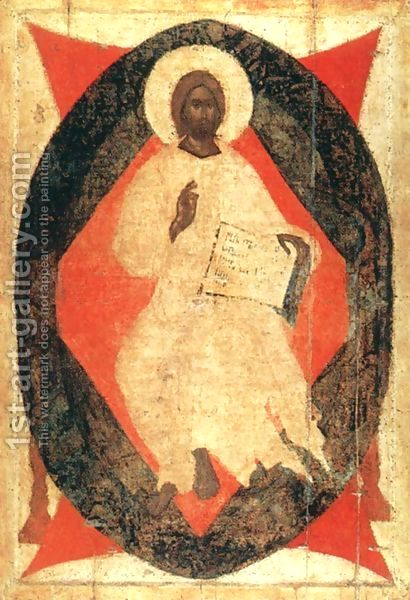 Christ in Glory from Deisus