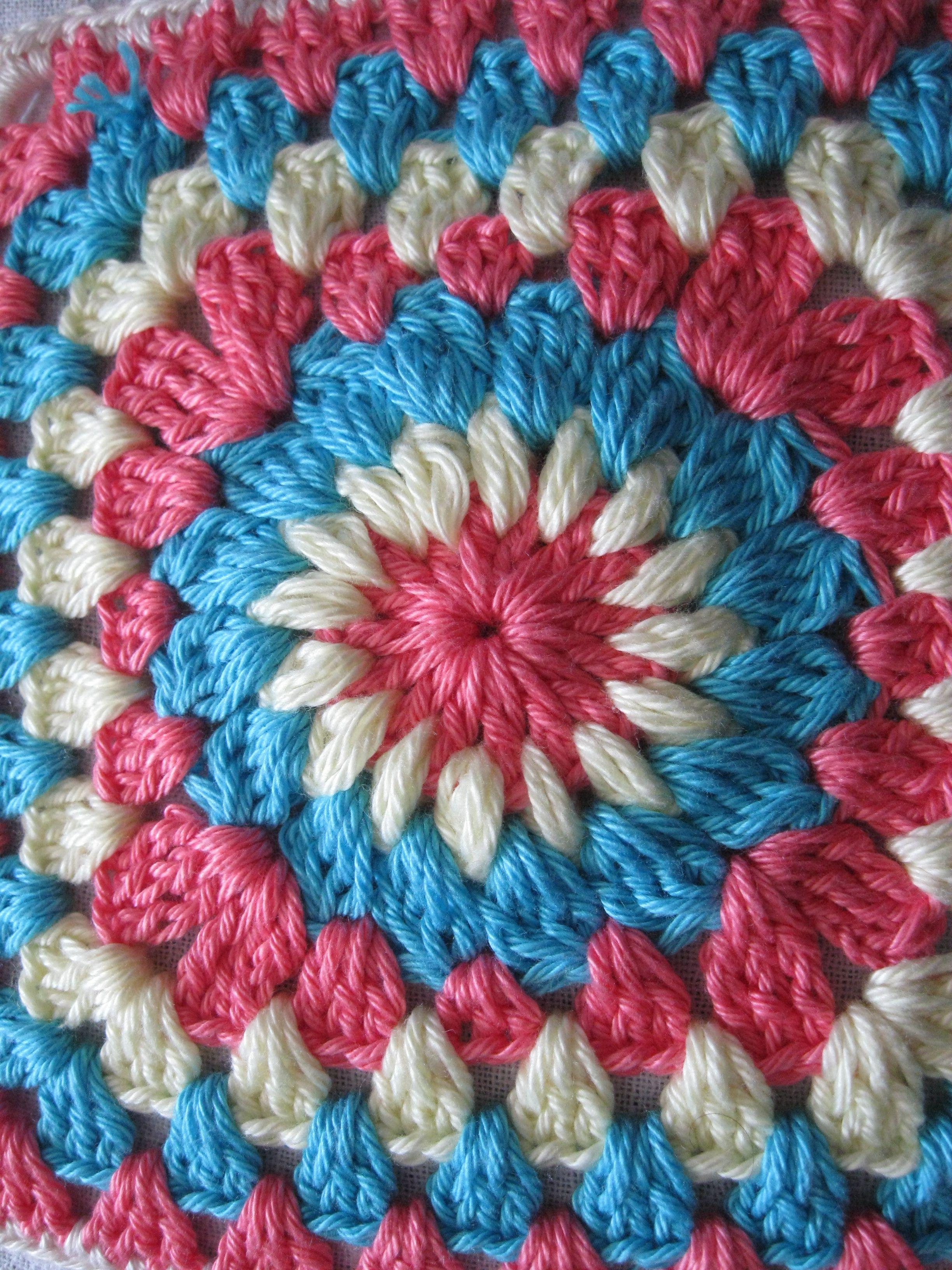 granny square crochet pattern | ... pattern is Priscilla Hewitt\'s ...
