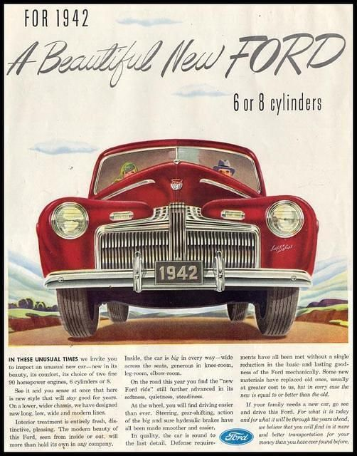 Ford, 1942. Finally, car buying that is on your side. We negotiate. YOU CELEBRATE. bit.ly/1m6LVk0