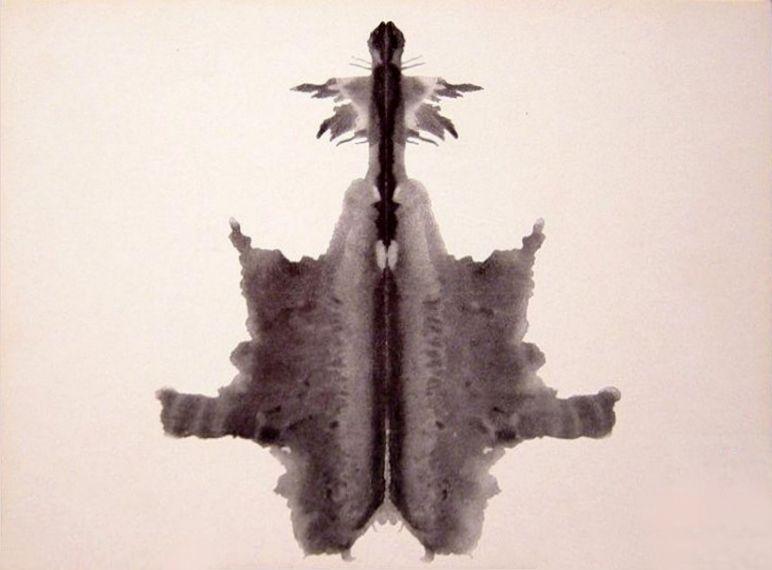 Rorschach card 6