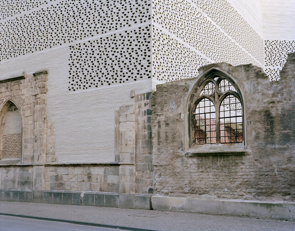The Kolumba Museum in Cologne, Germany by Swiss architect