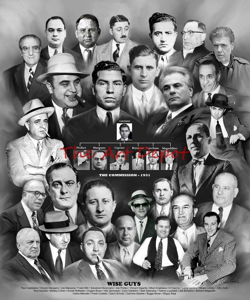 Cosa Nostra Mafia Gangster Wise Guys Mafia