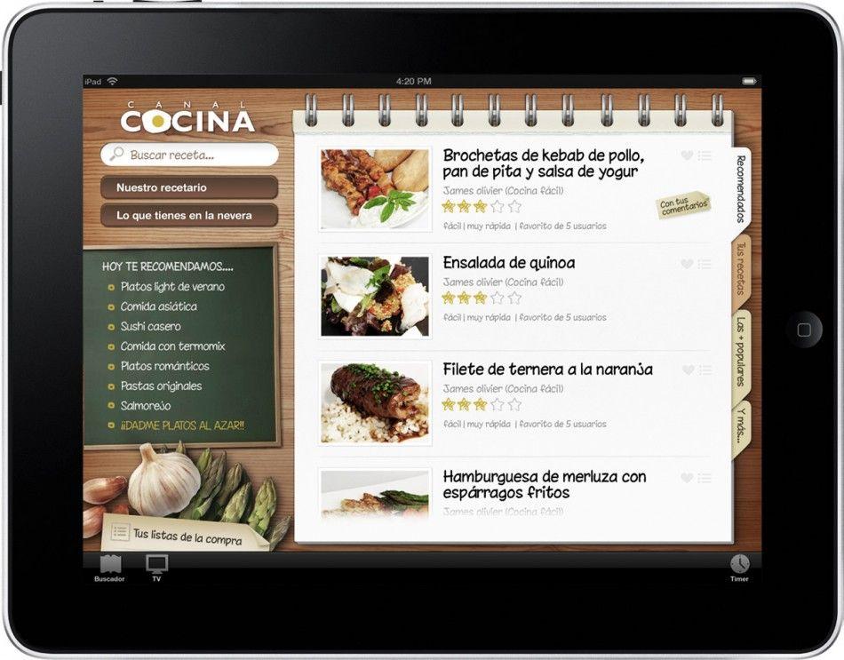 Magnífico Cocina Revisión Del Diseño De Aplicaciones Ipad Adorno ...