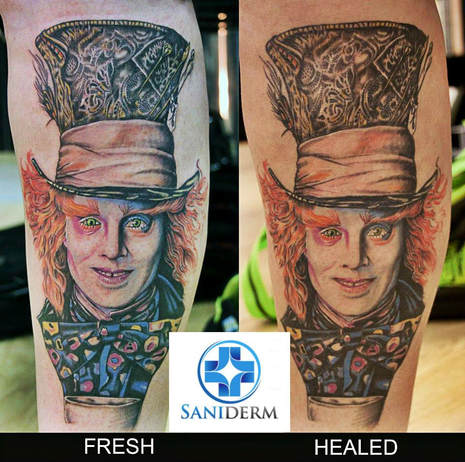 Tattoo Aftercare, Tattoo Healing with Tattoo Bandages