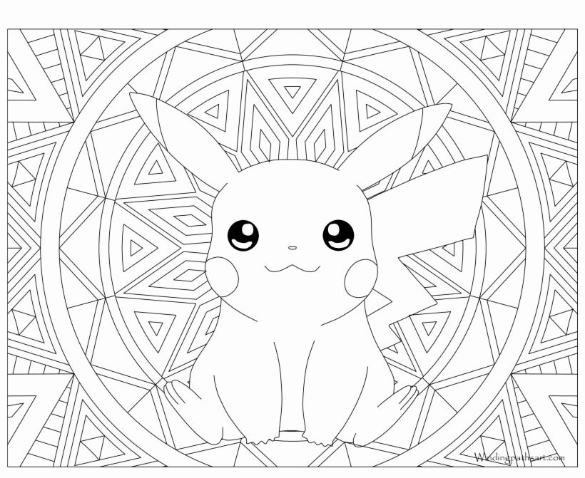 Coloring Pages Pokemon Pikachu Lovely Coloring Pages For Adults Pokemon In 2020 Pokemon Coloring Sheets Pikachu Coloring Page Mandala Coloring Pages