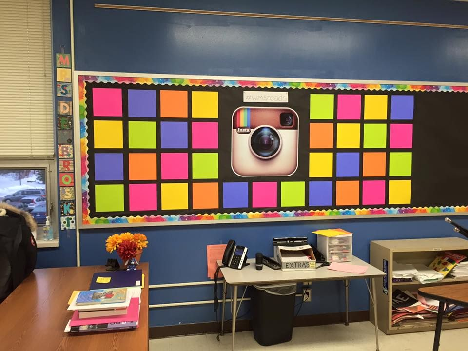 Instagram Reading Bulletin Board C Kristen Dembroski