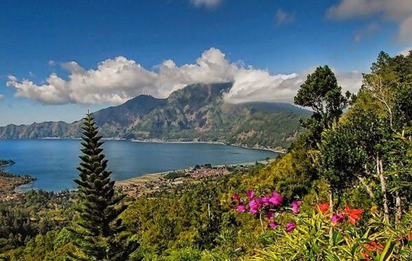 Pemandangan Gunung Bantur Pemandangan Bali Petualangan