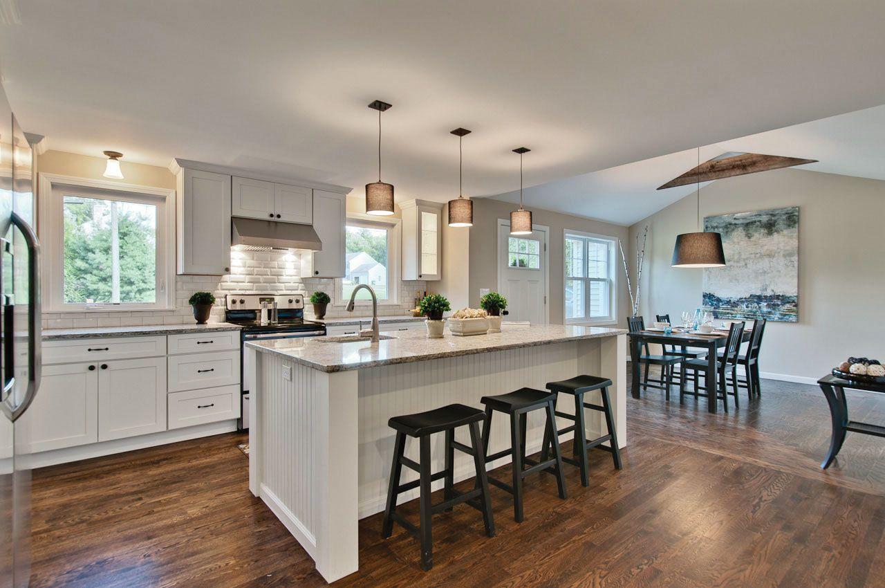 Dayton Painted White Shaker Cabinets Oa 5725 Kitchen