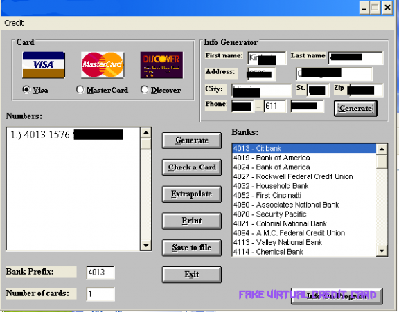 Free Vcc Generator Free Vcc Virtual Credit Card Generator Fake Virtual Credit Card Virtual Credit Card Credit Card Online Visa Card Numbers