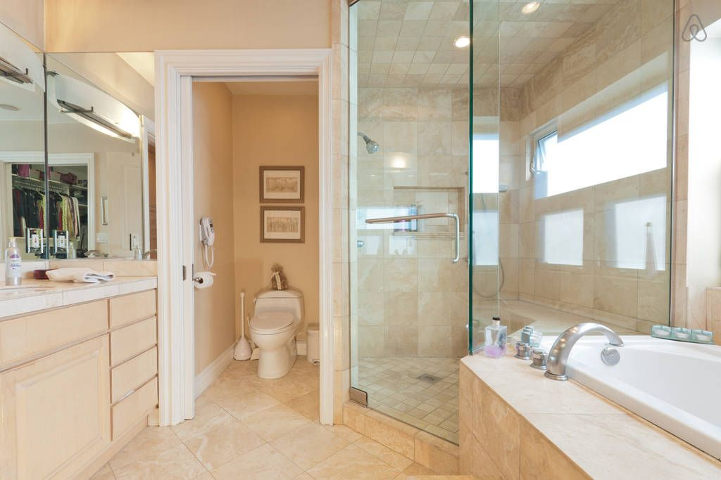 Enclosed Bed Google Search: Enclosed Toilet In Small Master Bath