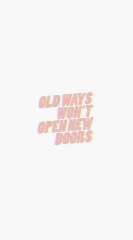 Is it time to open a new door?