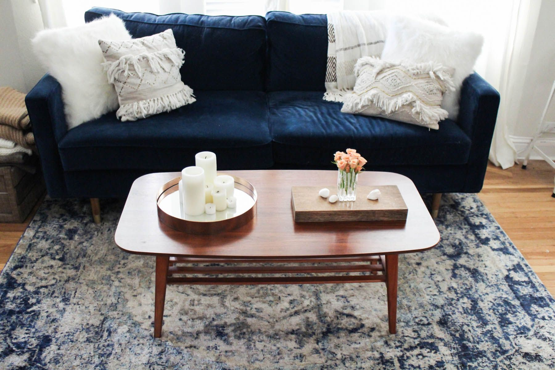 3 Ways to Style a Coffee Table | Living | Home Decor | Pinterest