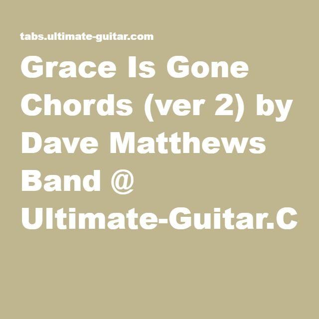 Pin By Sue Hart On Guitar Chords Pinterest Dave Matthews Band
