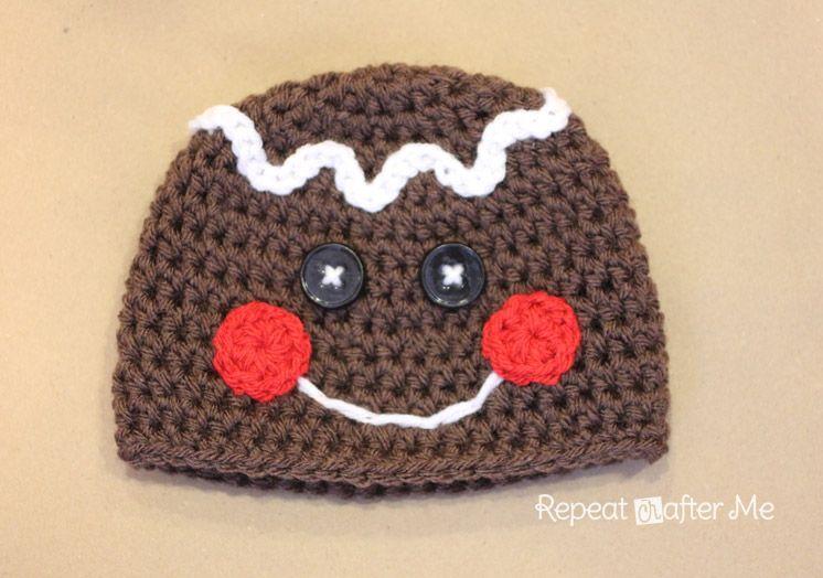 Gingerbread Hat Crochet Pattern