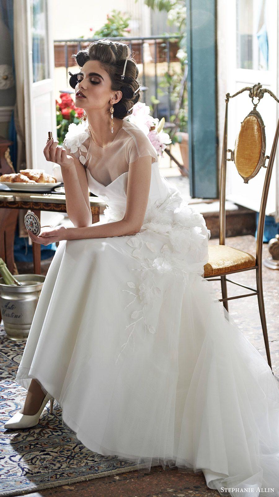 Stephanie allin wedding dresses u bellissimo bridal collection
