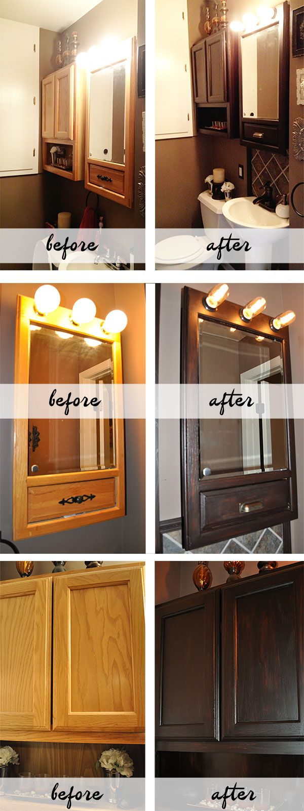 General Finishes Java Gel Stain worked wonders when I refinished the ...