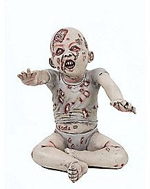 Halloween Zombie Baby Prop.Hugh R Tasty Zombie Baby Prop Holiday Decor Spirit Halloween