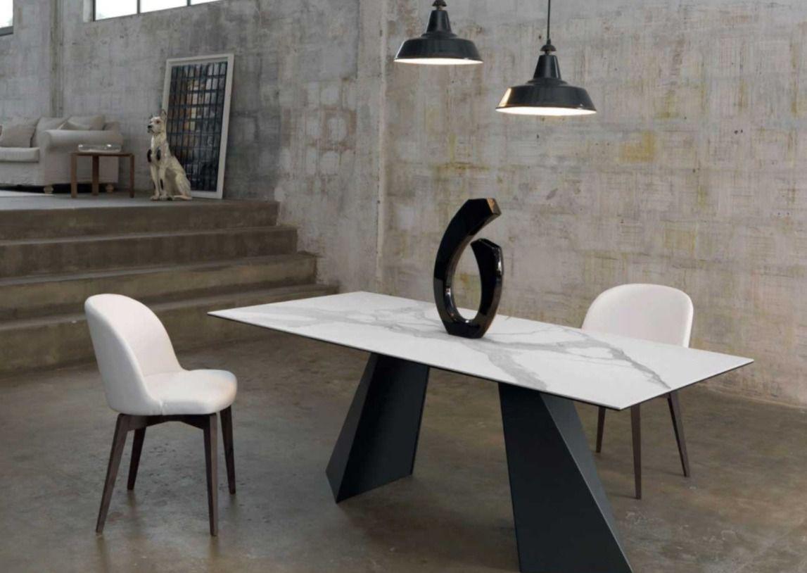 Tavolo E Sedie Stile Contemporaneo.Portland Stile Raffinato E Innovativo Il Tavolo Portland