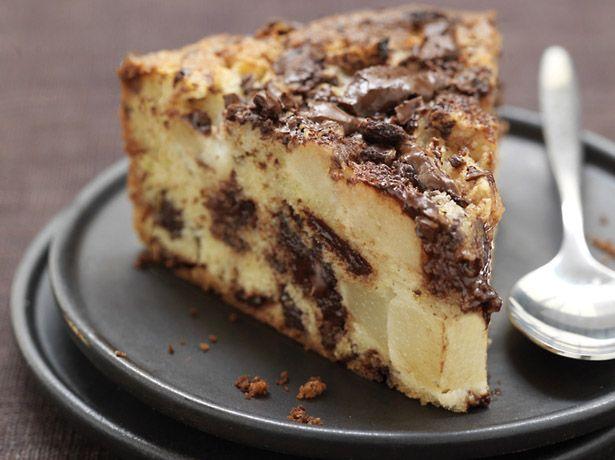 Gateau facile poire chocolat
