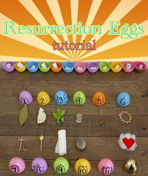 Diy Resurrection Egg Hunt Resurrection Eggs Egg Hunt Easter Story