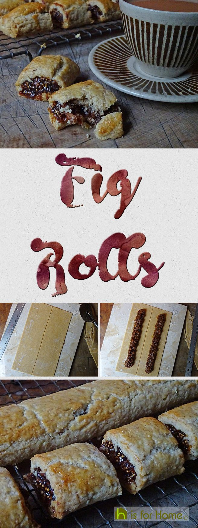 Home-made fig rolls | H is for Home  #recipe #biscuits #cooking #cookery