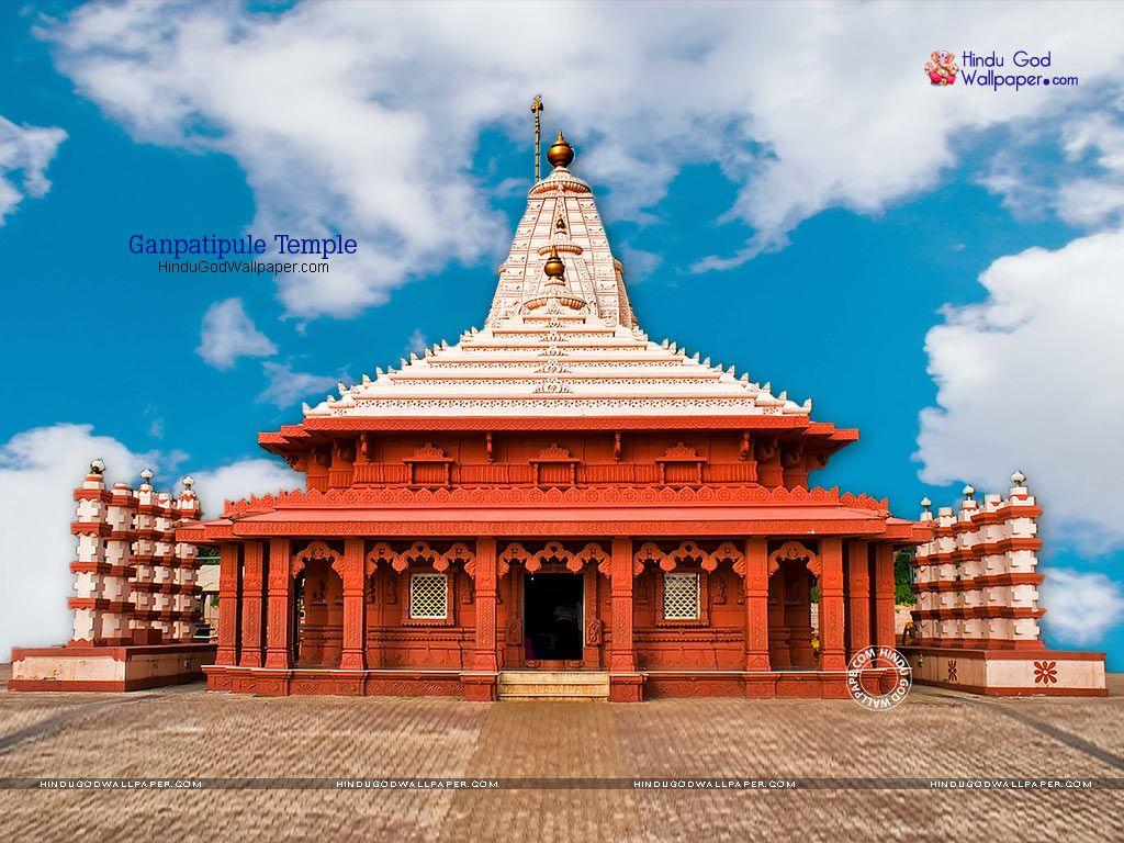 Ganpatipule Temple Wallpapers Images Photos Download India In