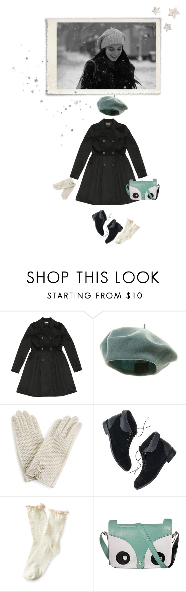 """Snow day"" by marialay ❤ liked on Polyvore featuring Miu Miu, Monsoon, Madewell and Aéropostale"