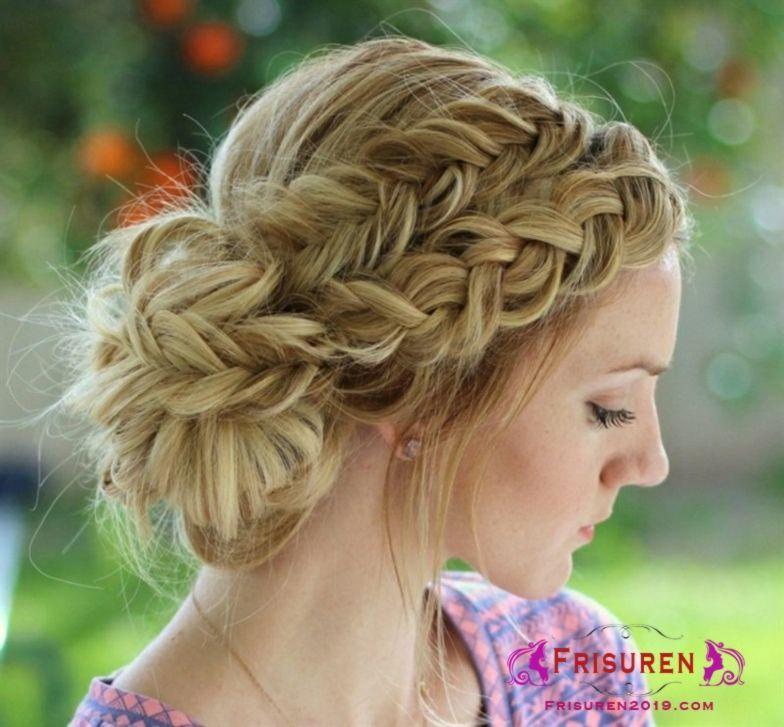Besten Dirndl Frisuren Selber Machen Curly Hair Styles Braided Bun Hairstyles Hair Styles