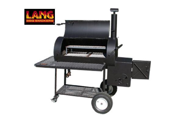 Wonderful Lang 48 Patio Model Smoker Cooker Grill