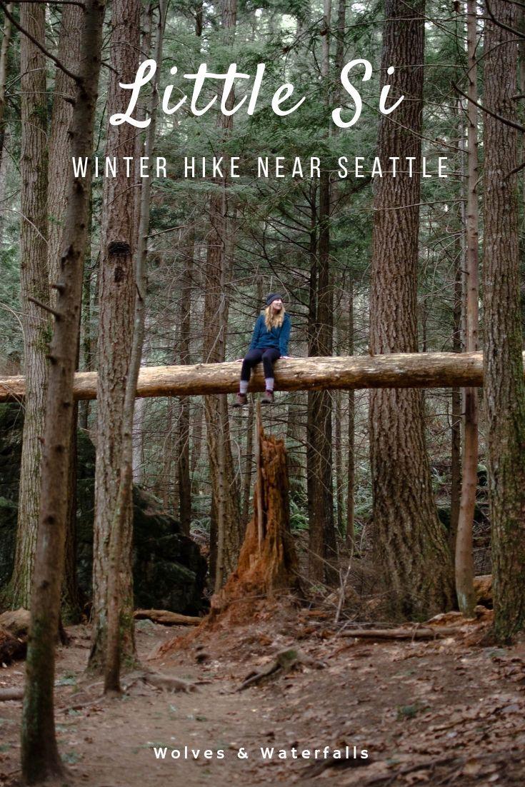 Photo of Little Si: An Easy Winter Hike Near Seattle — Wolves & Waterfalls