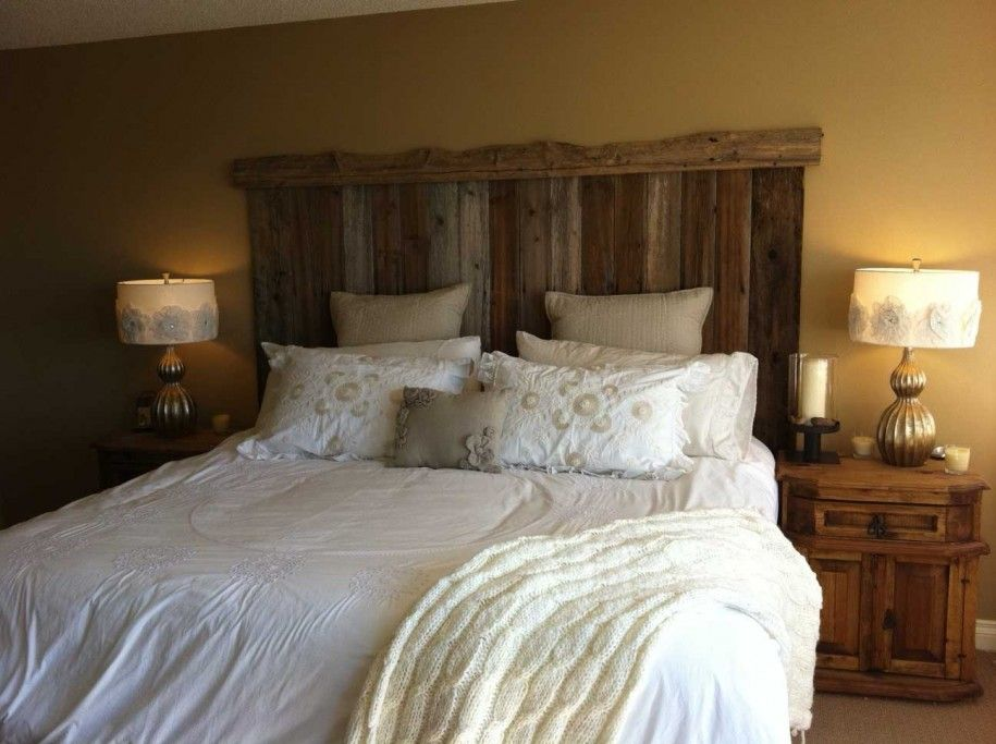 Thinking creative for your homemade headboards headboard for Makeshift headboard