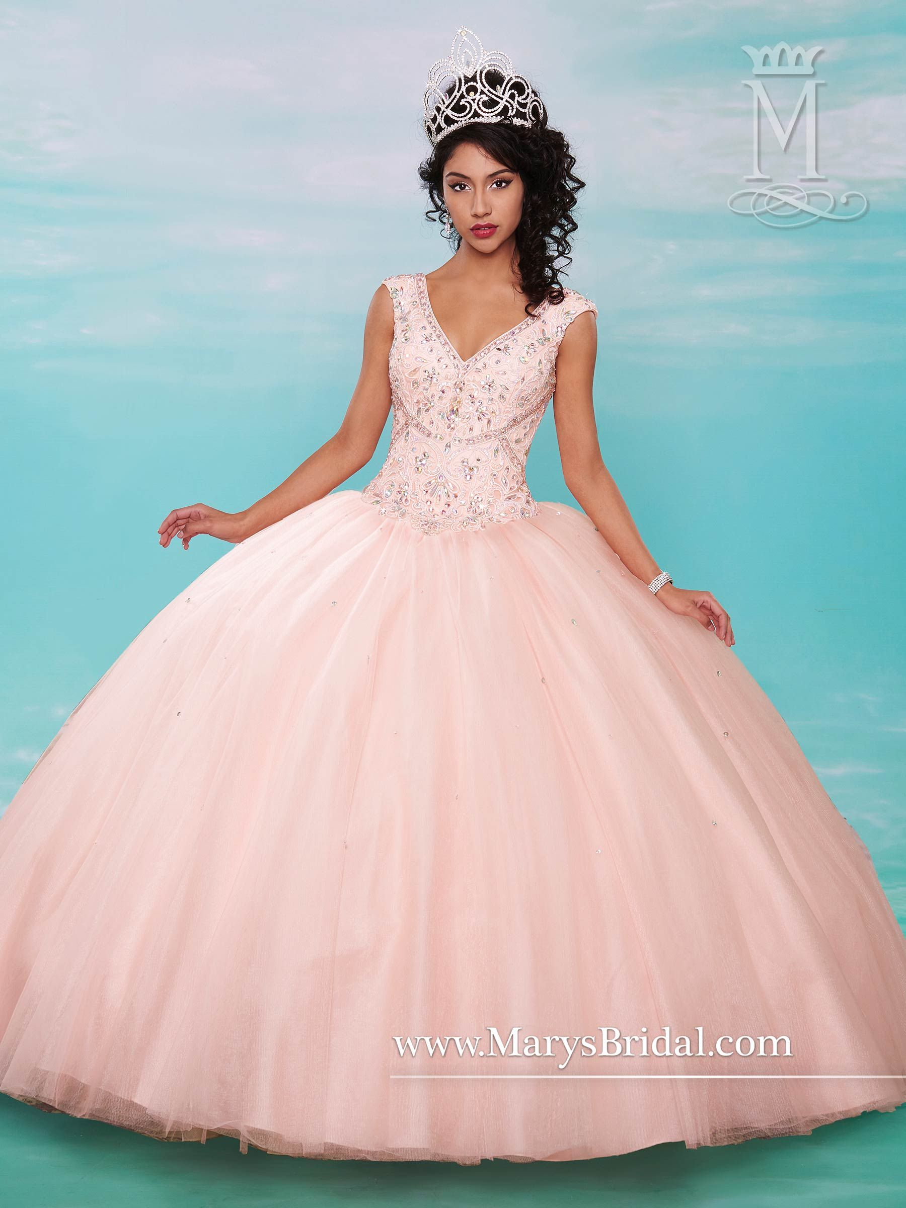 Mary\'s style ID 4630 | top dresses | Pinterest | Quinceañera ...