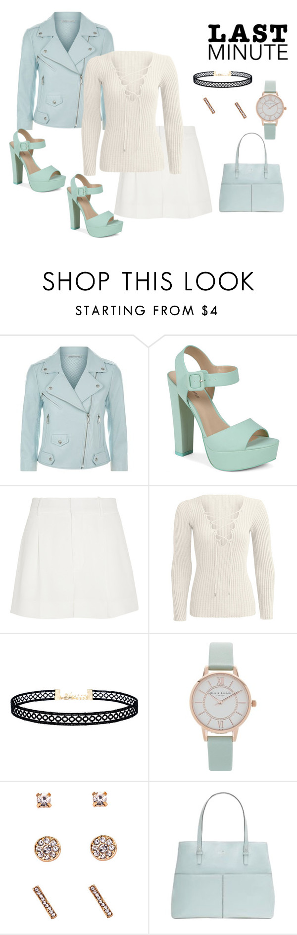 """""""# LAST MIN.*"""" by stitch51 ❤ liked on Polyvore featuring Rebecca Minkoff, Call it SPRING, Chloé, LULUS, Olivia Burton and Kate Spade"""